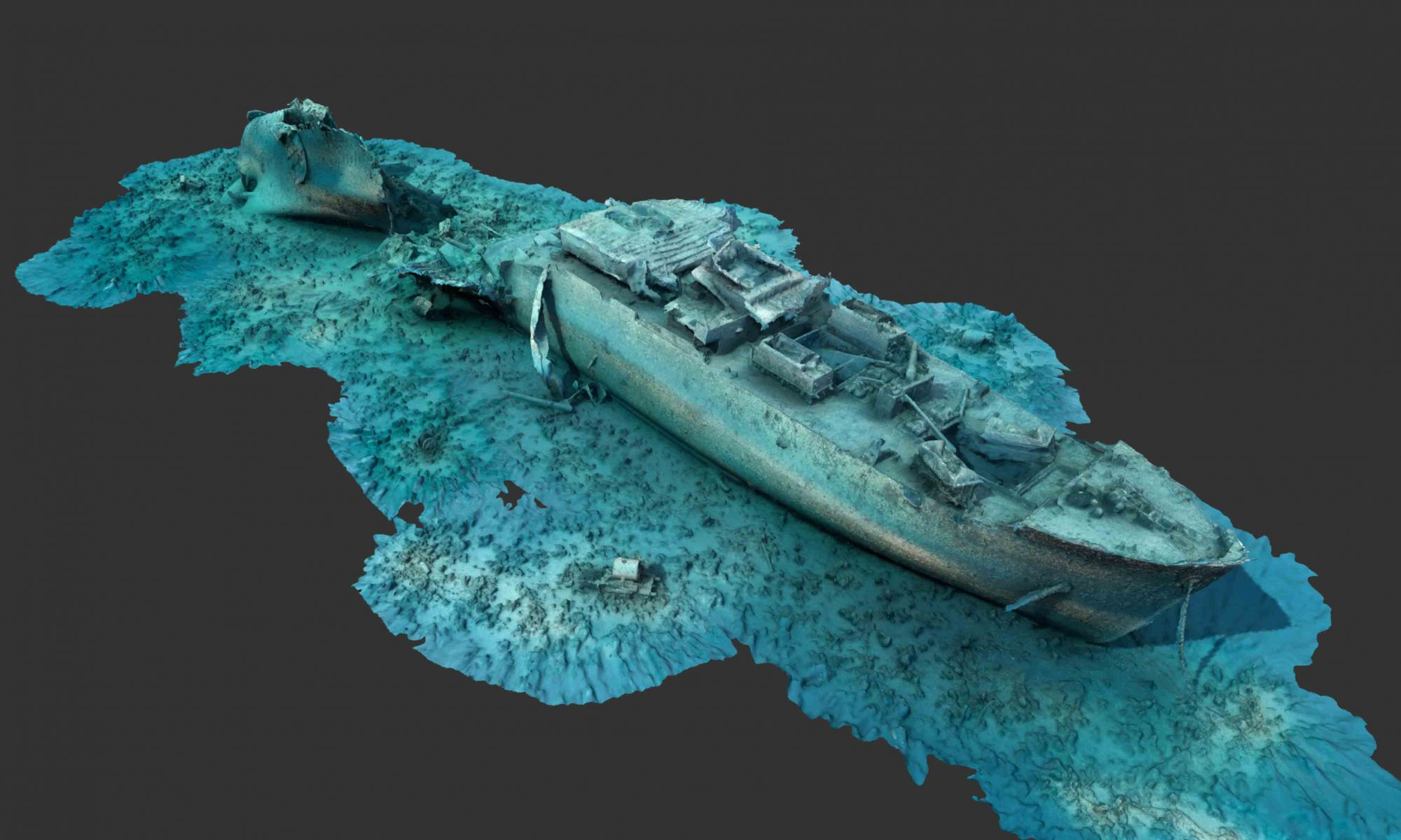 Wreck Photogrammetry Studio